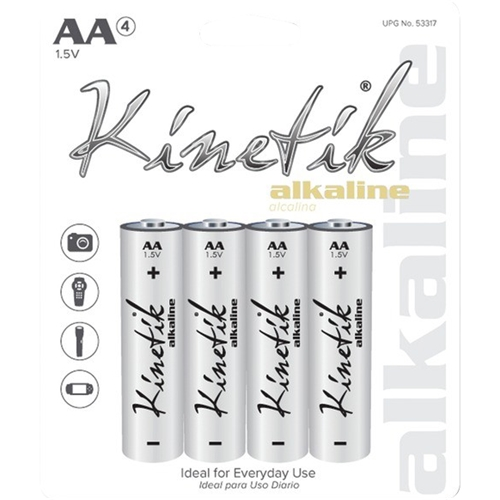 Image For Kinetik Batteries AA - 4p