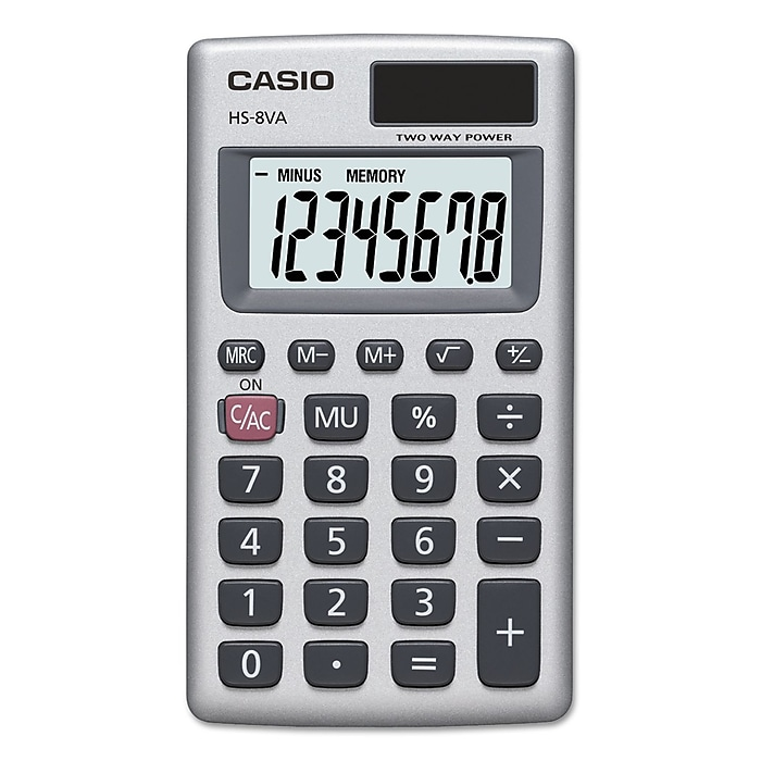 Image For CALCULATOR CASIO HS-8V